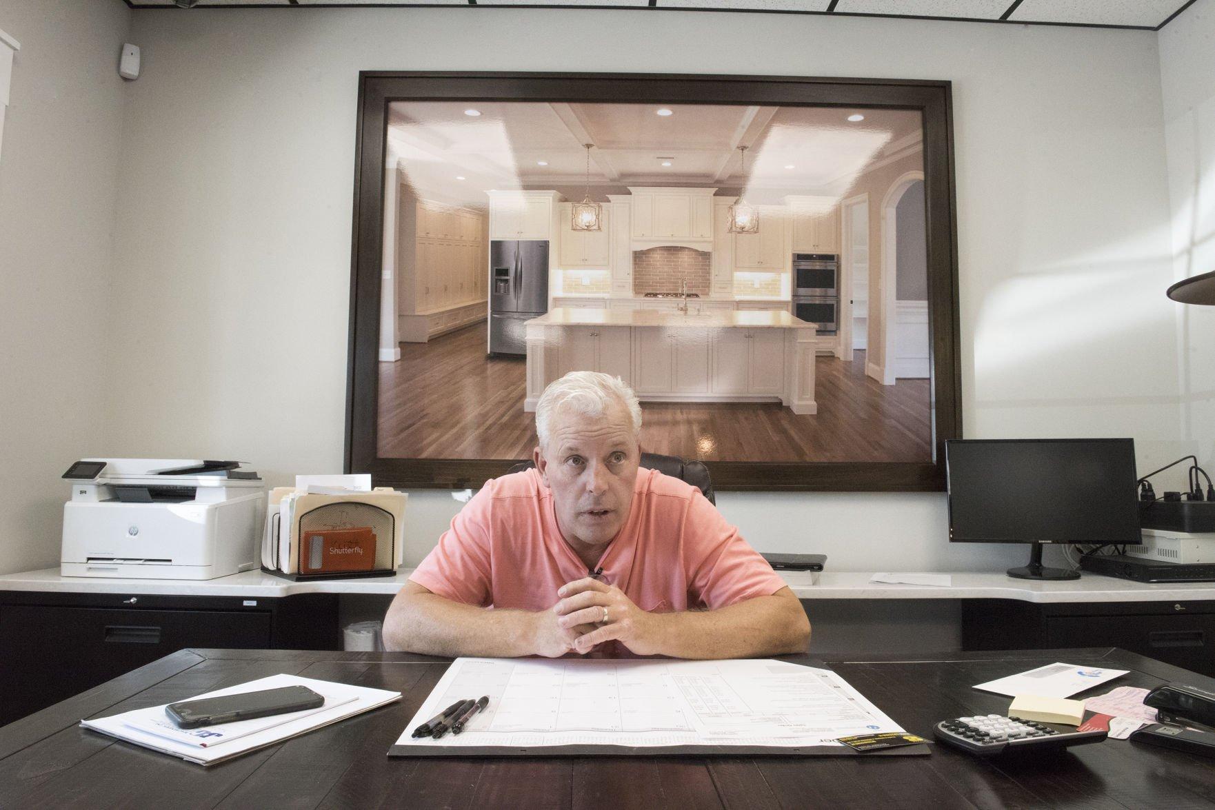 Gentil Rising From Flames: Adams Custom Cabinets Back In Business Following  Devastating Blaze