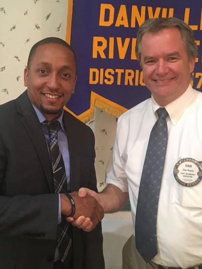 Life Push president speaks to Riverview Rotary