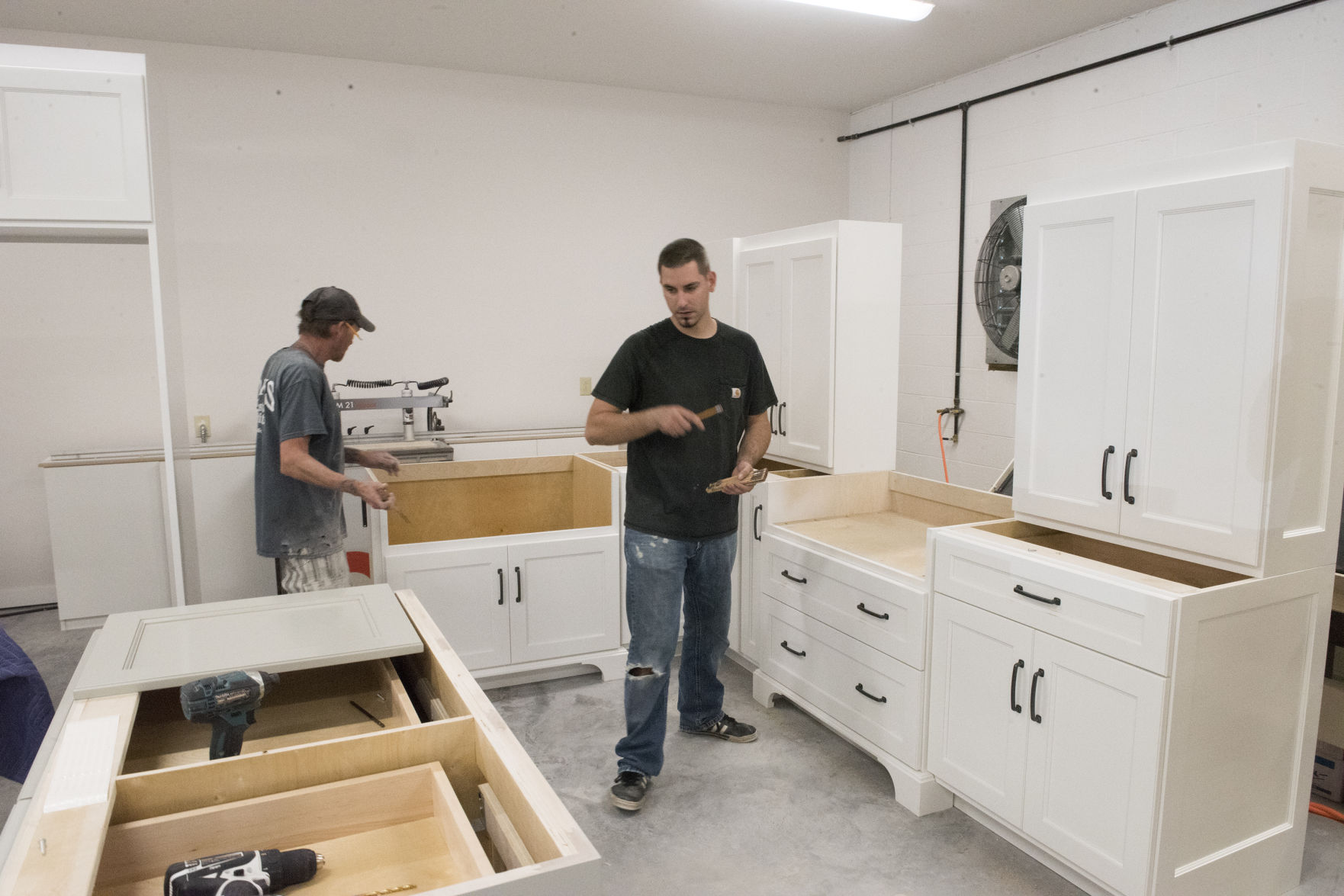 Charmant Rising From Flames: Adams Custom Cabinets Back In Business Following  Devastating Blaze