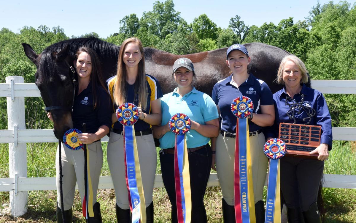 Averett university equestrian team gallops to national title win