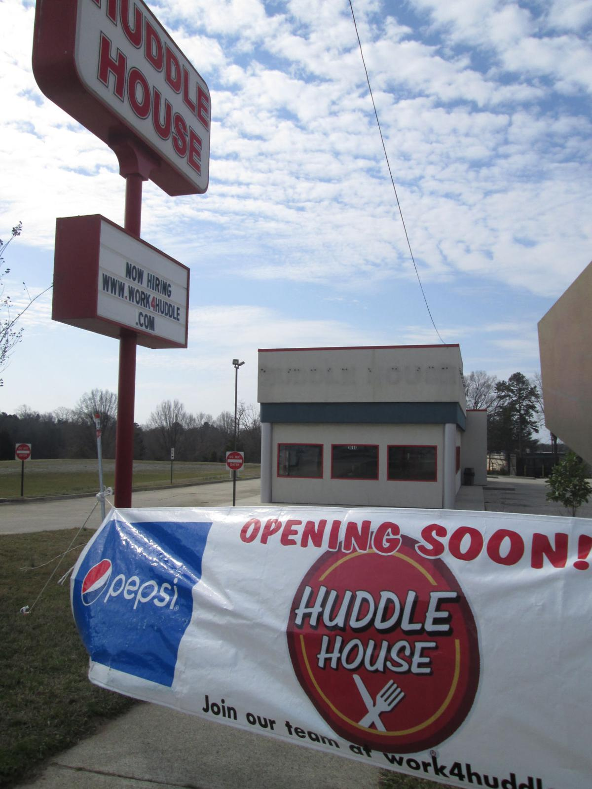 huddle house returning to south boston business