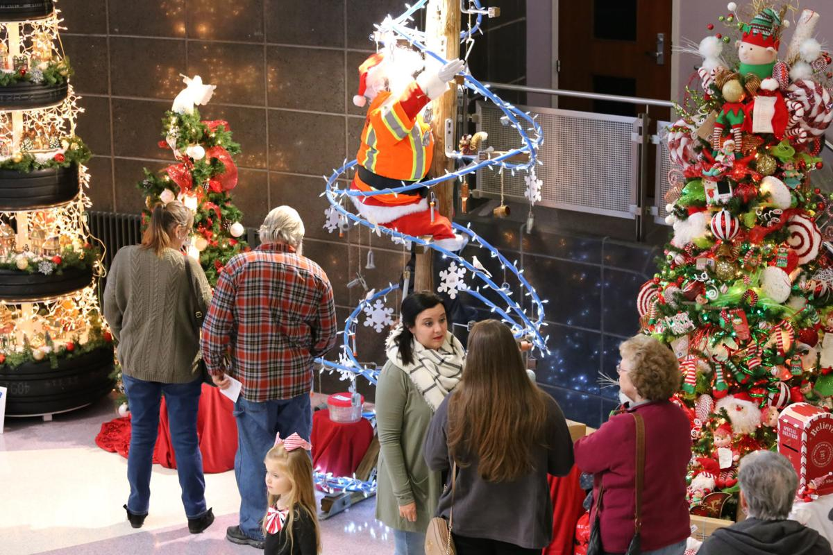 Decorating the Trees for a Cause