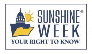 Sunshine Week 2019