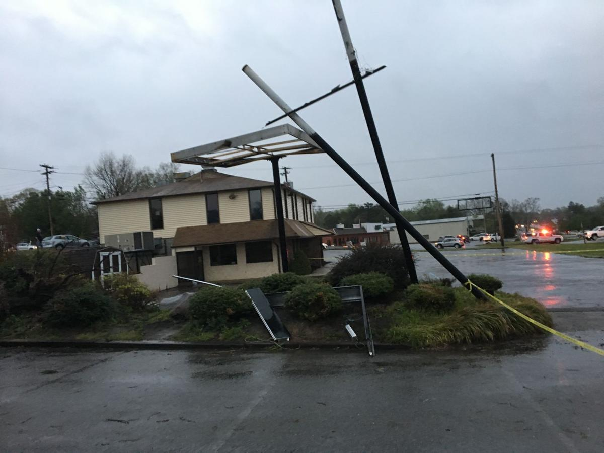 photos storm leaves path of damage in danville danville