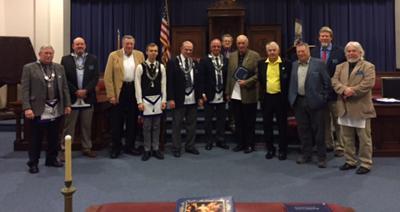 50-Year Veteran Masonic Award