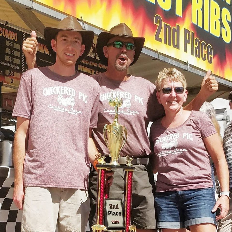 Locals win big at annual BBQ cook-off