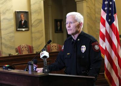 Danville Police Chief Philip Broadfoot
