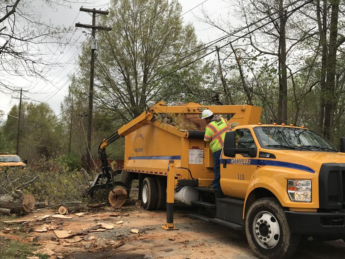 PHOTOS: Cleaning up and looking over the damage   Danville ...