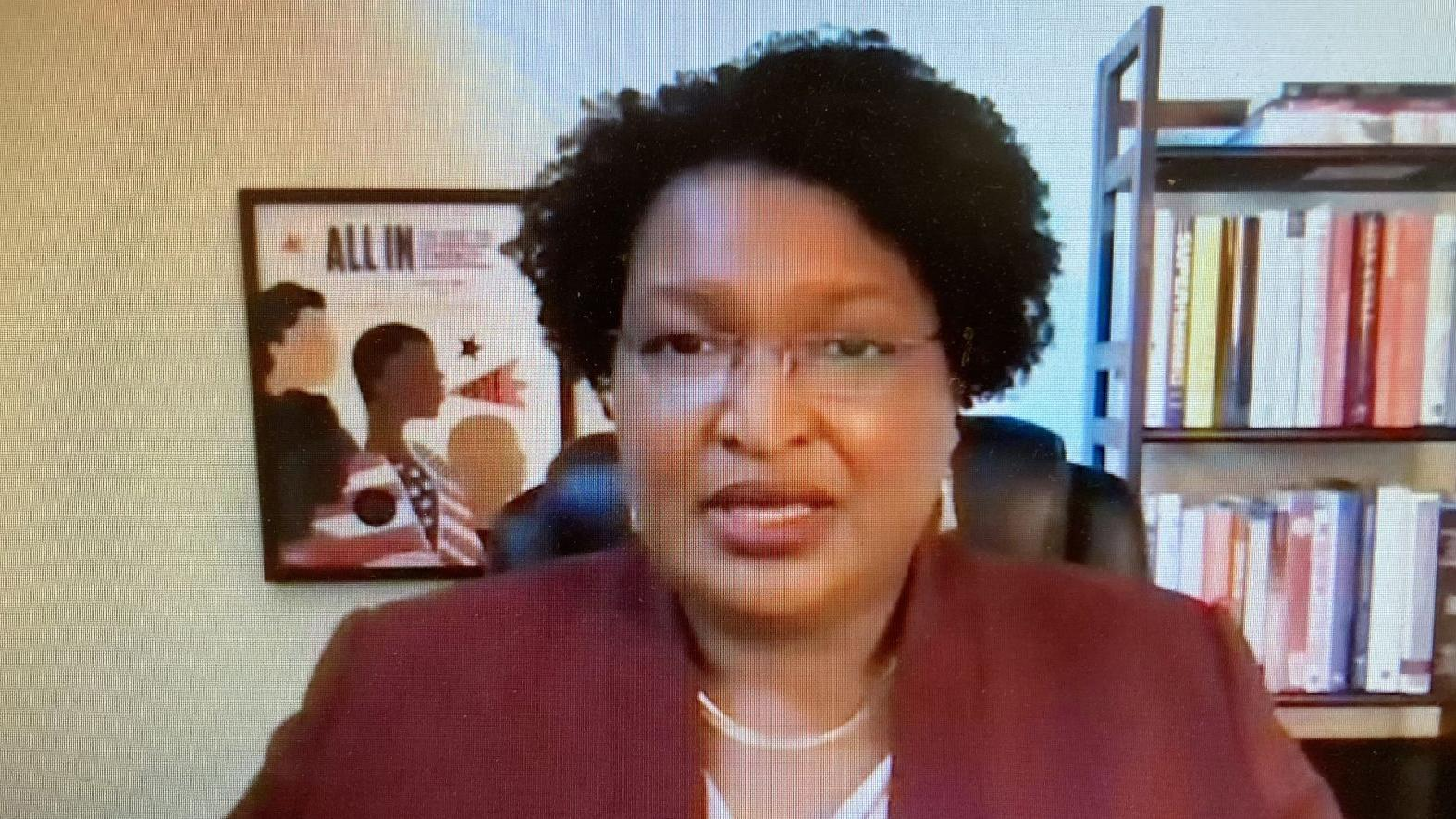 WATCH NOW: In passionate Averett speech, Stacey Abrams says building community requires trust, imagination, action