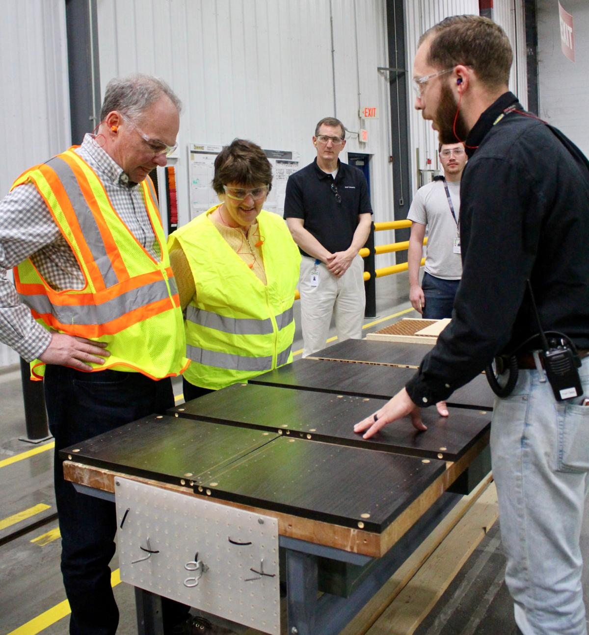 Kaine tours ikea plant a decade after he attended ribbon for Ikea call center careers