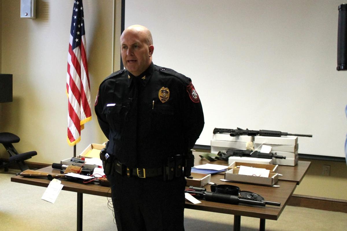 Danville police collect a trove of illegal firearms | News
