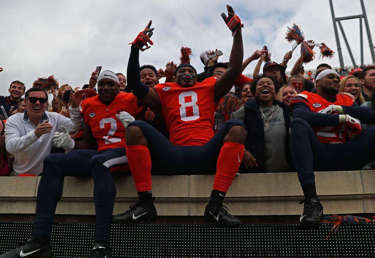 Virginia Football Team Nationally Ranked For The First Time Since