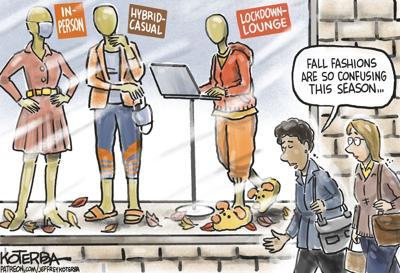Cartoon for Sept. 14, 2021