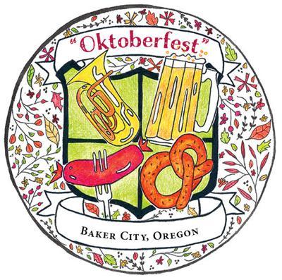 Baker City Oktoberfest logo