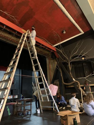 Elgin Opera House - Matilda set and EHS
