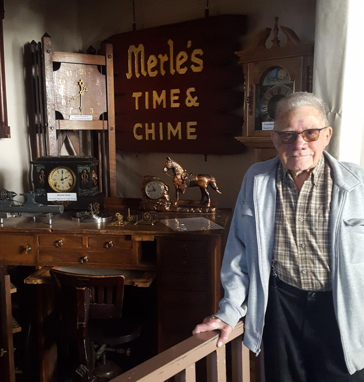 Watchmakers Display - Merle Miller, UC Museum