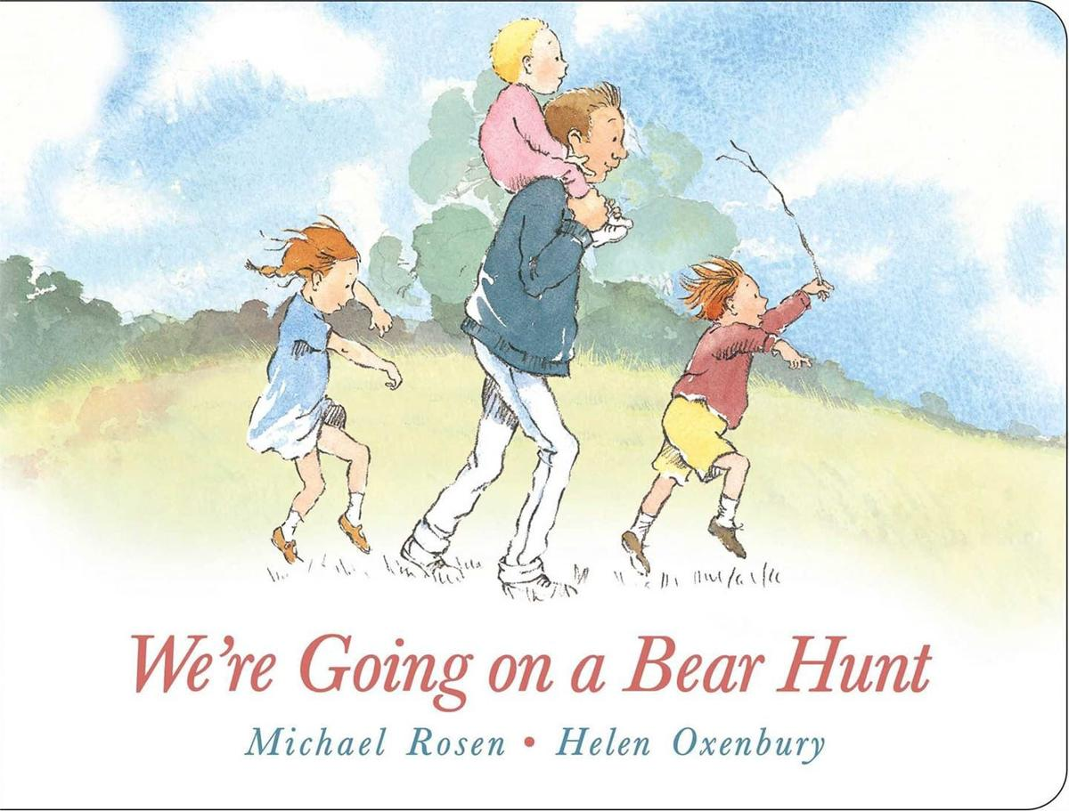 We're Going on a Bear Hunt book cover