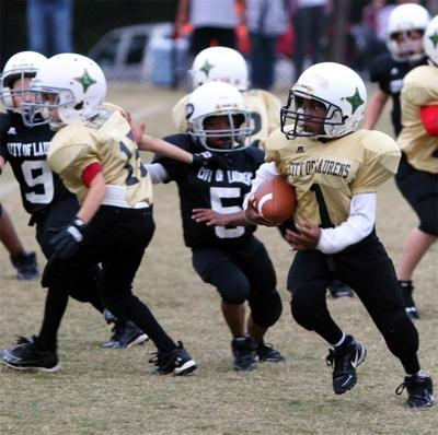Registration for Laurens youth football, cheerleading ends July 25