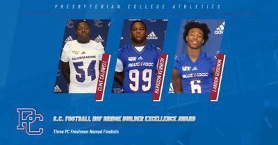 Three Football Freshmen Named Finalists