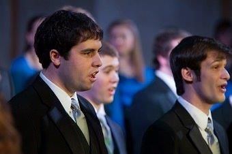 PC male choir part of vocal selections featured at annual Garden Song celebration