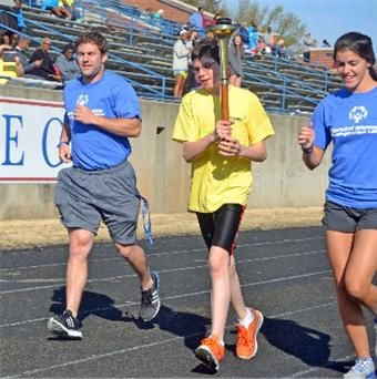 Area athletes compete in Special Olympics