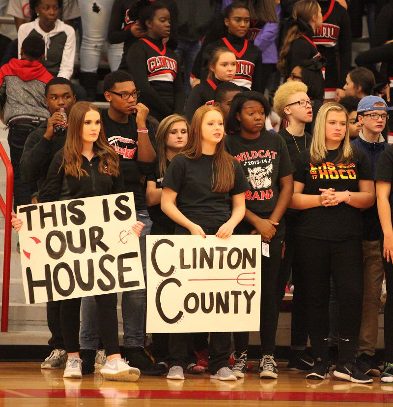 CHS student section