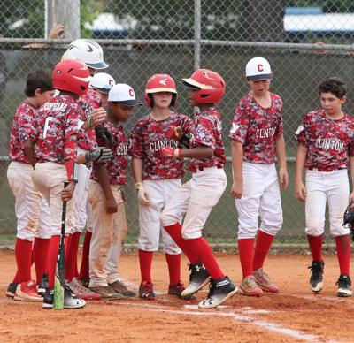 Clinton YMCA Dixie Youth baseball teams head into district