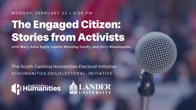 Electoral Initiative at Lander University to feature prominent S.C. activists and campaign leaders