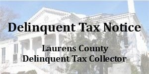 Delinquent Tax Notice for Nov. 28