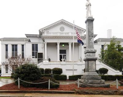Laurens County historic courthouse