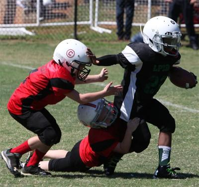 Laurens Parks and Recreation hosts youth football homecoming