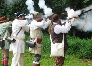Battlefield brought to life for Musgrove Mill anniversary