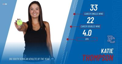 Thompson Earns Scholar-Athlete of The Year Honors