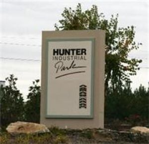 County Council agrees to repair and update Hunter Industrial Park signage