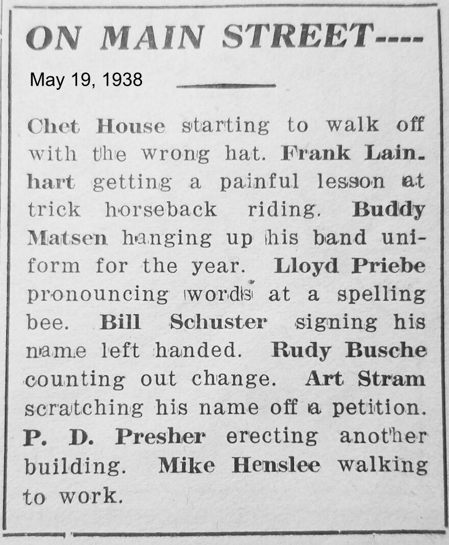 May 19, 1938