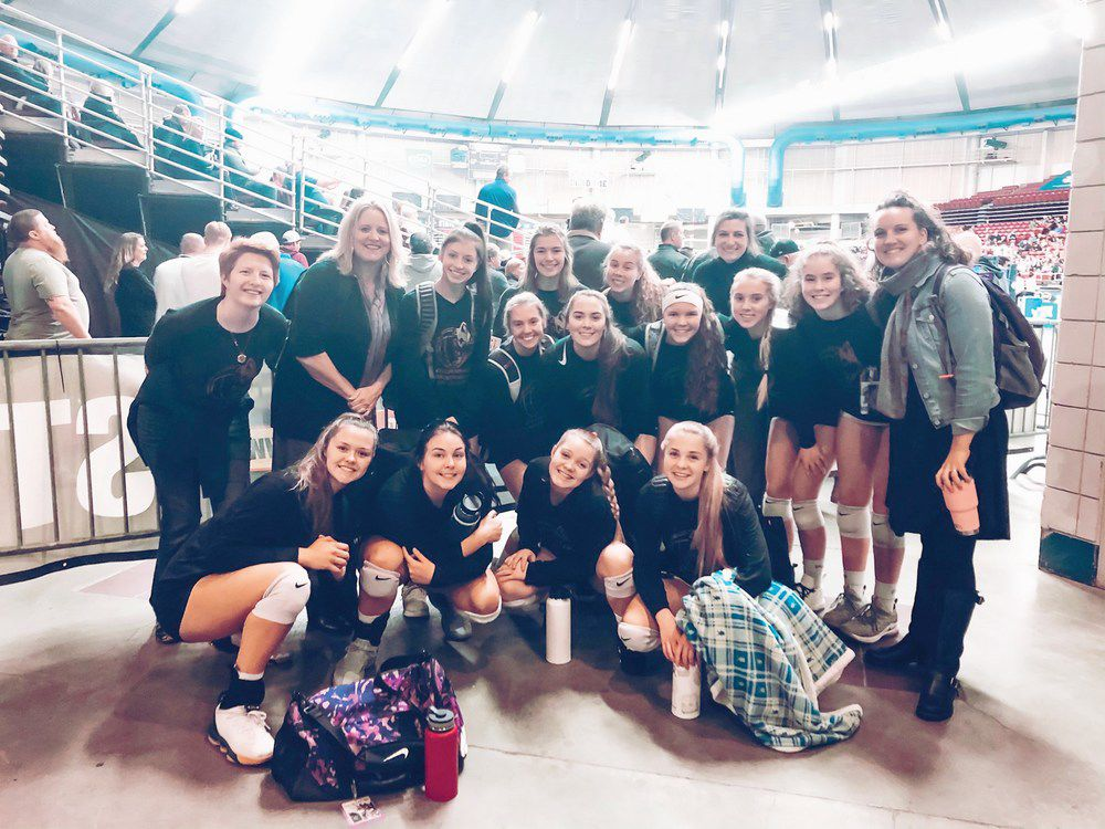 T-wolves win volleyball trophy