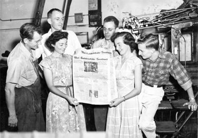 Mystery Photo: Sentinel Press