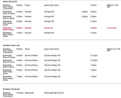 Winter Sport for GHS