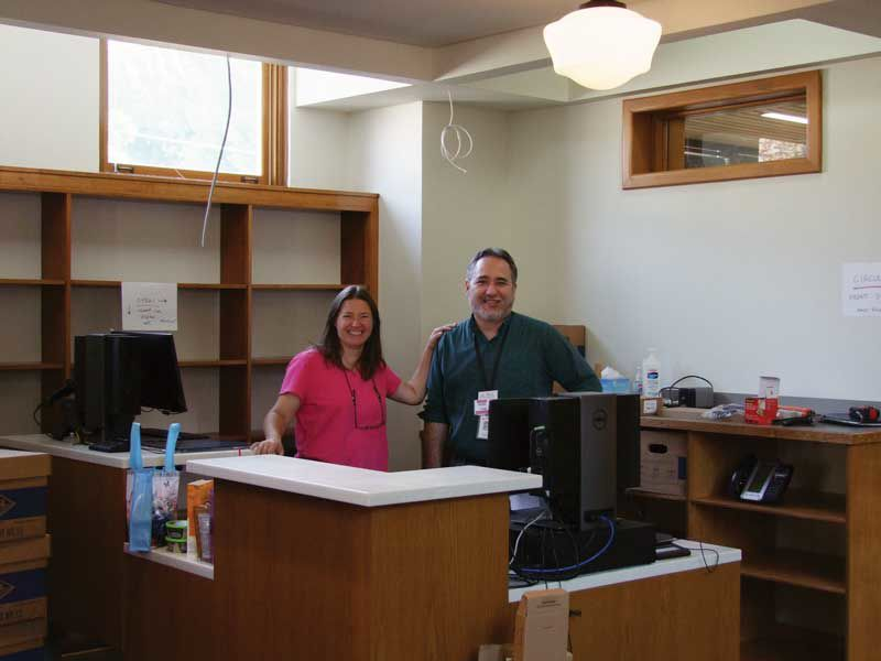Library to reopen Saturday with help from a past patron