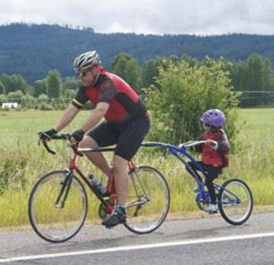 Weather can't dampen spirits of 2014 bicycle tour riders