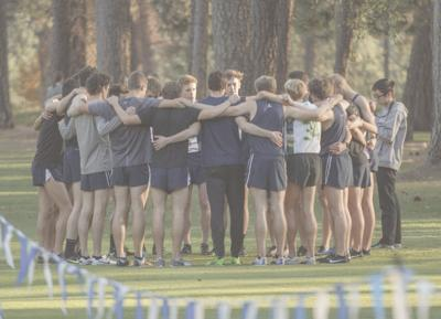 Cross Country Huddle