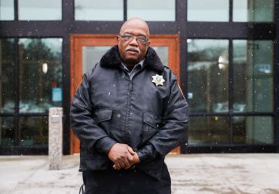 Security guard patrols Gonzaga Law School in response to threats