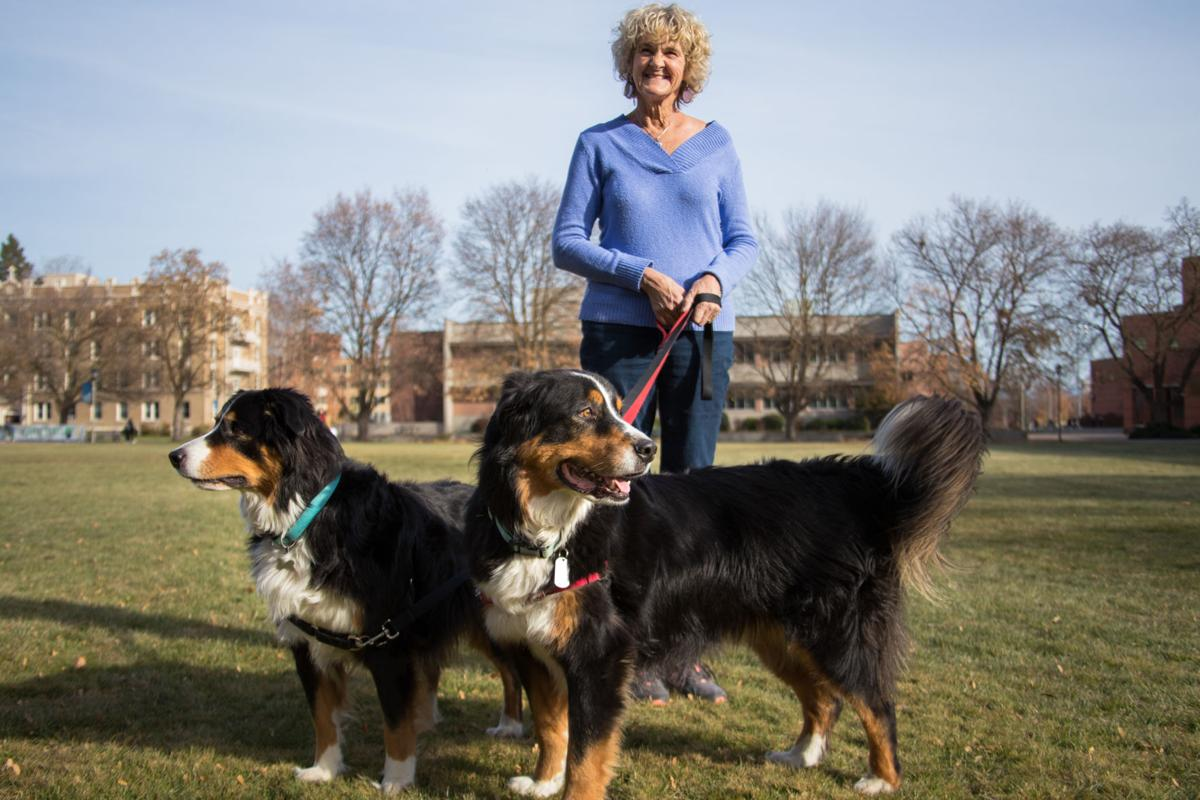 20191114 Gonzaga Professors with Dogs