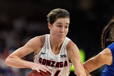 Women's basketball: Gonzaga's Campbell out for rest of season