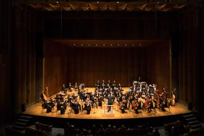 """""""[Gonzaga's symphony] is about half students, half community members, and it's been that way forever."""""""