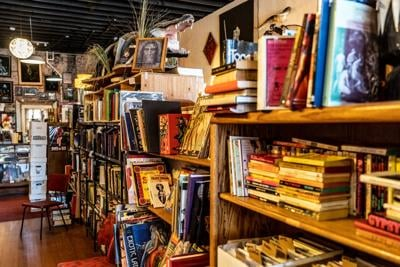 Giant Nerd Bookstore is located on 607 W. Garland Ave. The store is known for selling mostly used books.