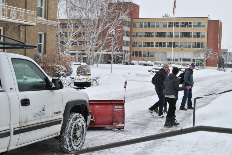 Campus Snow - The Gonzaga Bulletin: News