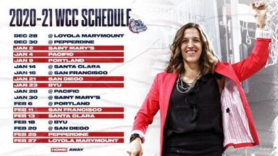 gonzaga women's schedule