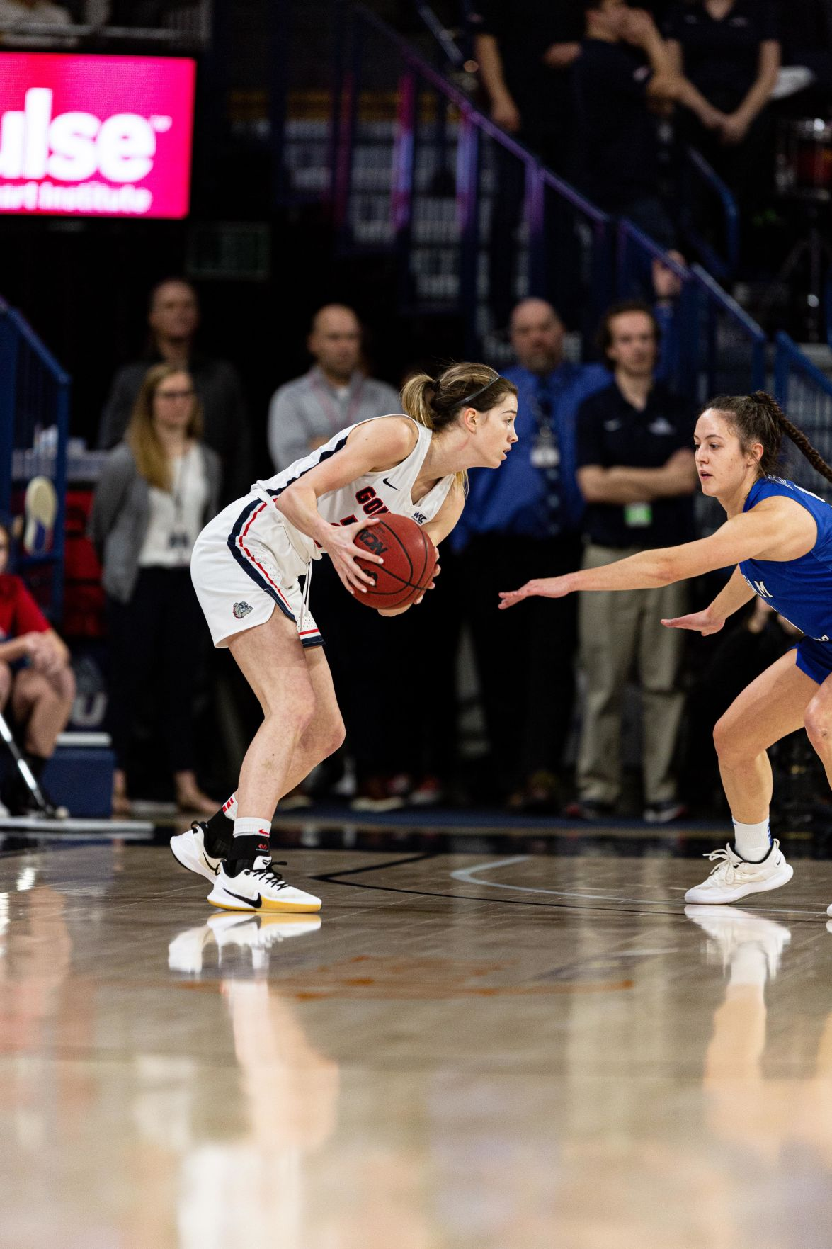 Gonzaga women's basketball remains undefeated in WCC vs. BYU
