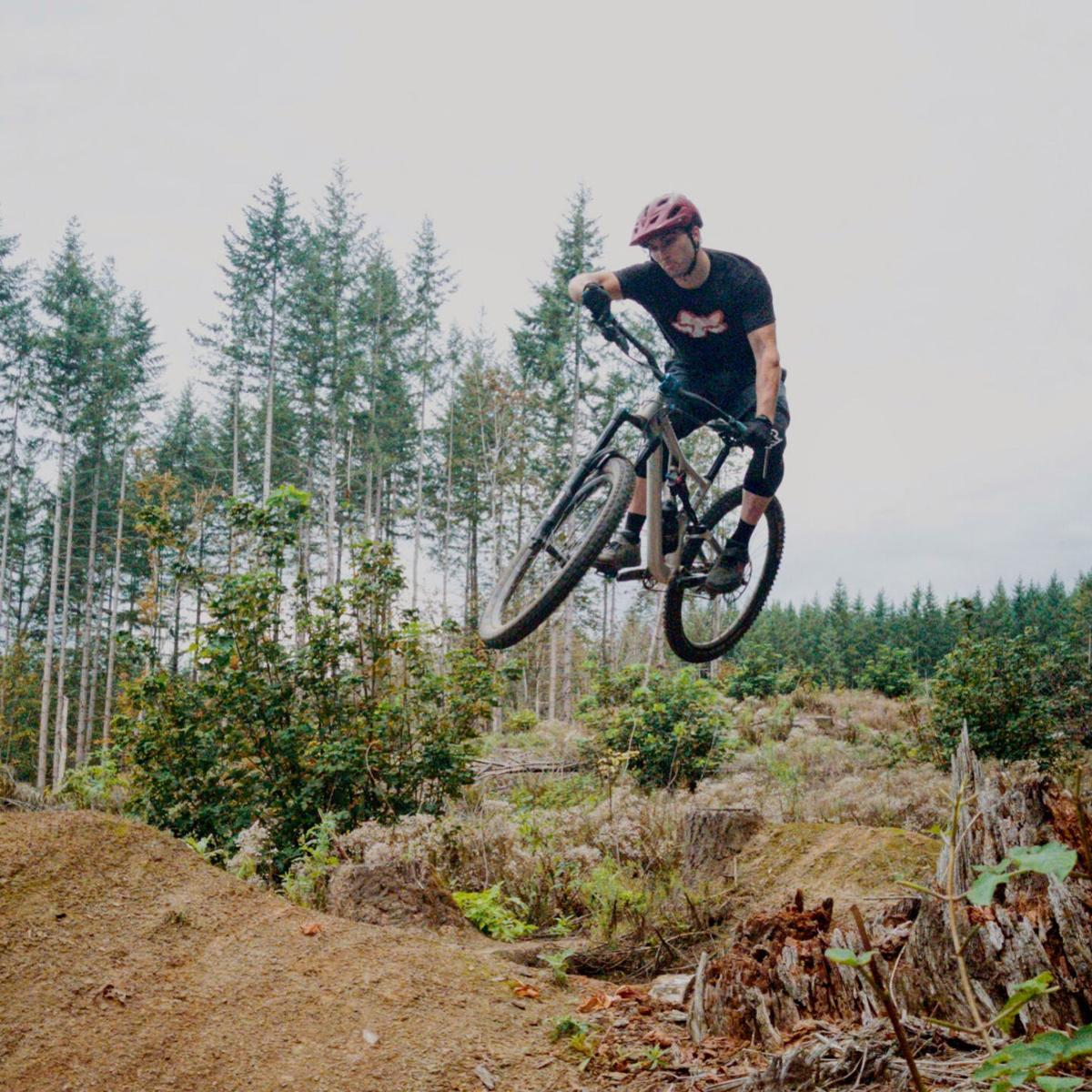Gwinn mountain biking photo